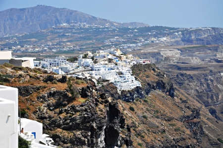 Santorini island photo