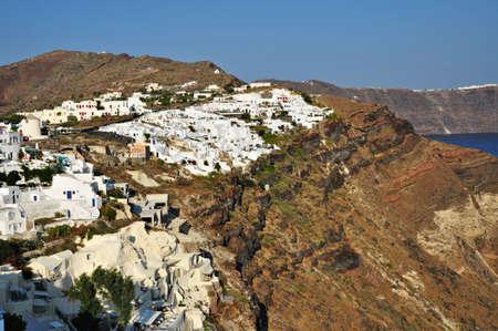 Oia  IA  Village, santorini island photo