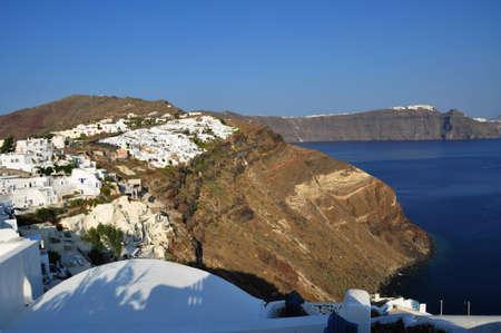 Oia  IA  Village, santorini island Stock Photo