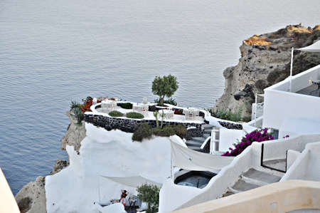 Oia  IA  Village on Santorini island, Greece