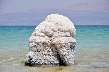 hugh: A hugh formation of salt bulders