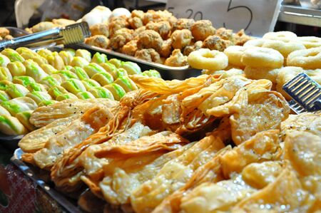 Thai dessert as Thai street food