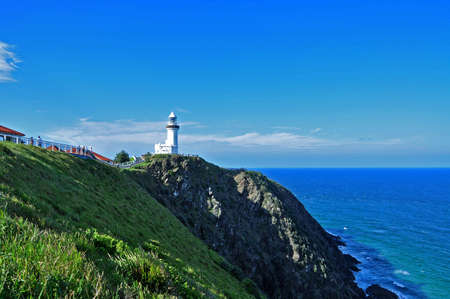 Byron Bay lighthouse at day, New South Wales Australia Stock Photo - 16978369