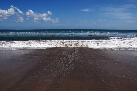 Seminyak beach on Bali