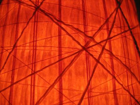 lampekap: Rood lampenkap van de lamp