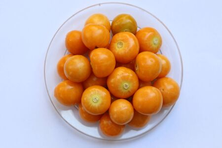 husk tomato: cape gooseberry Stock Photo