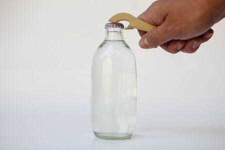 soda bottle: Soda bottle opener Stock Photo