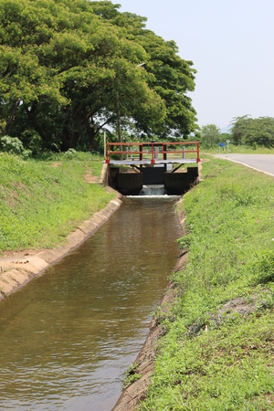 waterway: Irrigation water delivery Canal.
