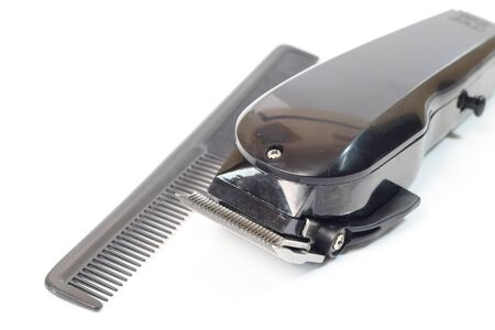 shorten: hair clipper isolated on white background