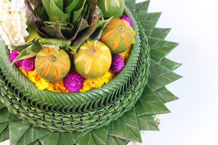 handicrafts: Handicrafts from banana leaves