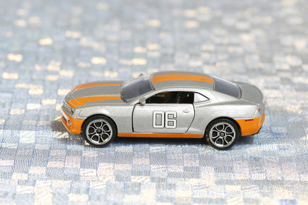 tinted glasses: Toy car Stock Photo