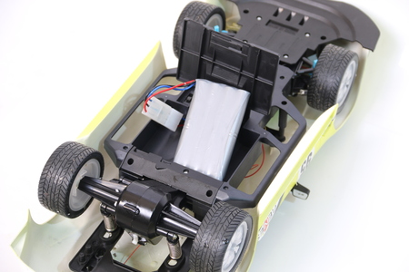 rc: rc radio control car without body shell
