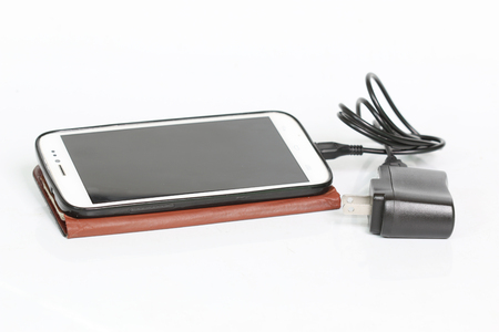 charger: Smartphone connect with charger