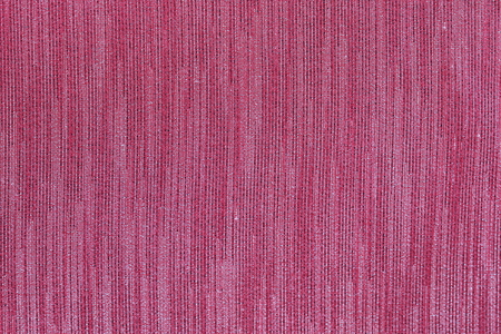 cloth manufacturing: Red striped fabric. Stock Photo