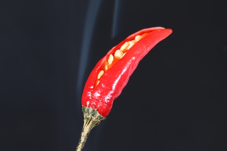 cousin: Red Hot Chili Pepper Stock Photo