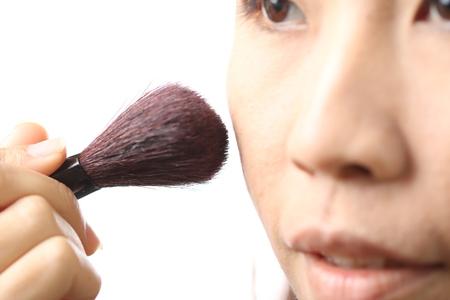 blush: Asian women are Blush Stock Photo