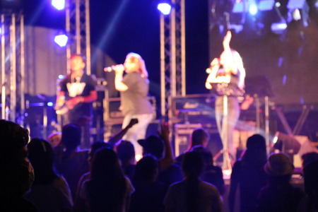 concert: Music Concert Stock Photo