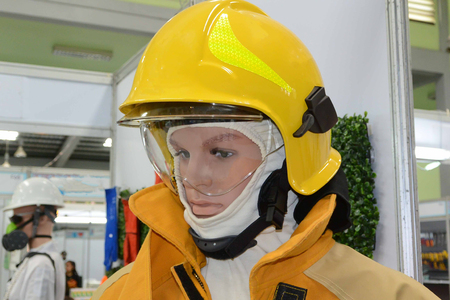toxicology: Fire Suit Stock Photo