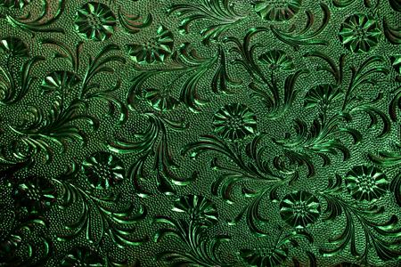 glass texture: Green glass texture .