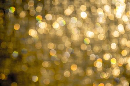 Arrière-plan avec des reflets flous Thème de vacances Banque d'images