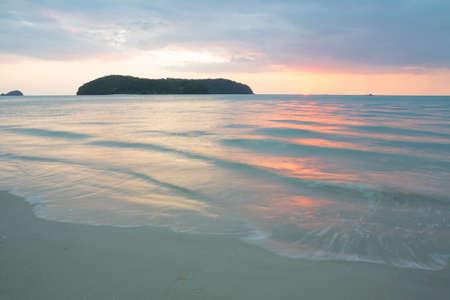 langkawi island: Tropical sunset,  Langkawi island. Malaysia Stock Photo