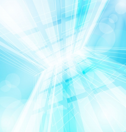Abstract sharp vector blue background