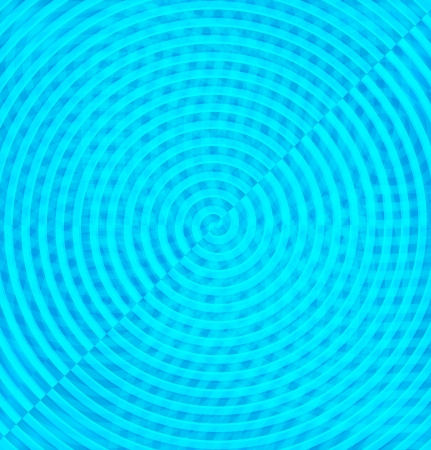 Abstract light blue circle wave Vector