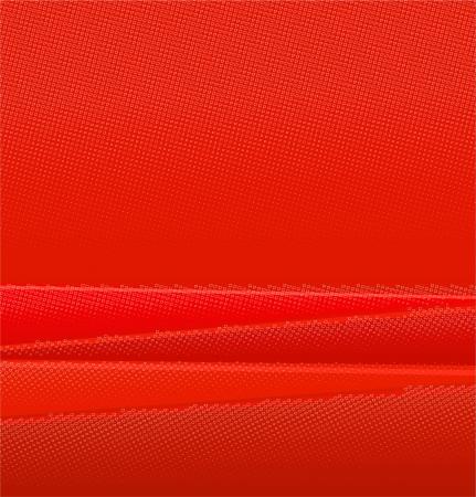 linear halftone tone background red Ilustração