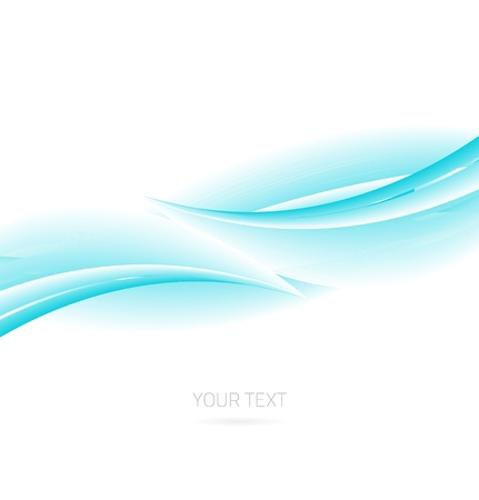 celeste: Abstract blue technology colorful wave background