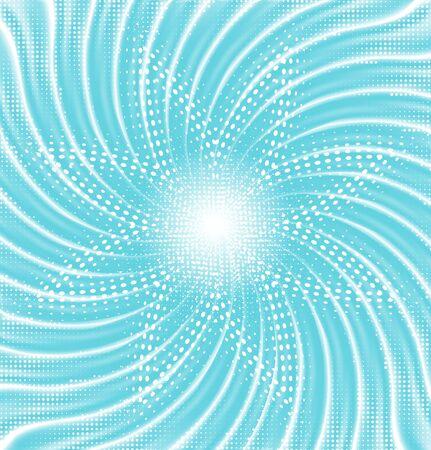 ciclo del agua: Resumen ciclo del agua azul abstracto Vectores
