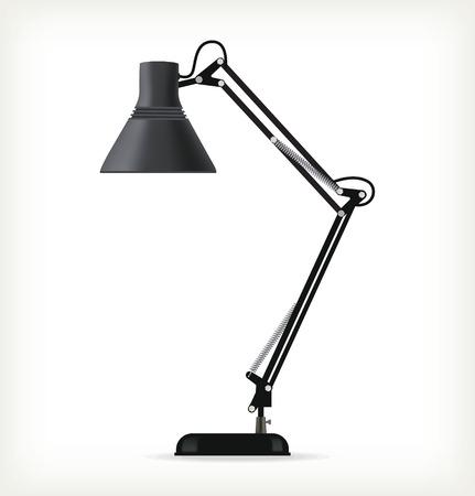 desk lamp: Black table lamp