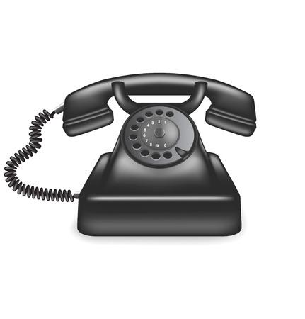 Téléphone Vieux Vecteurs