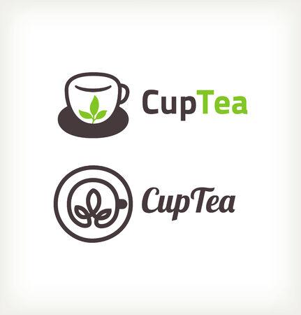 Green tea symbols