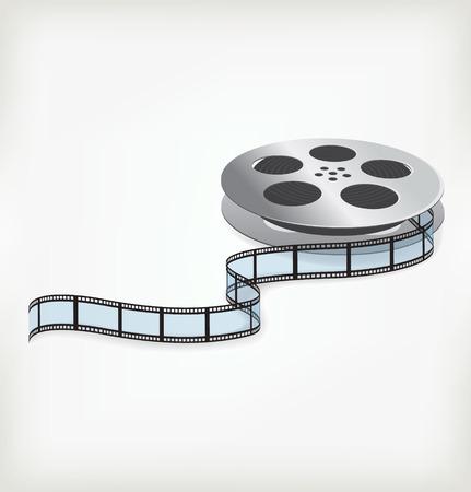 Film coil Illustration