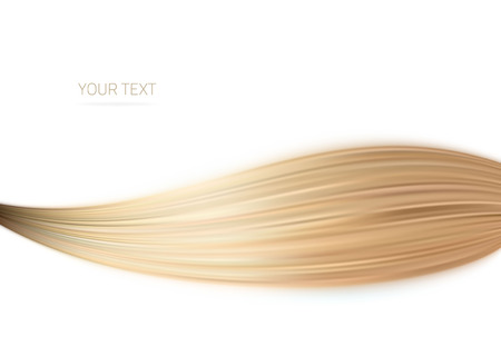 blond hair: Long blond hair as background .illustration design