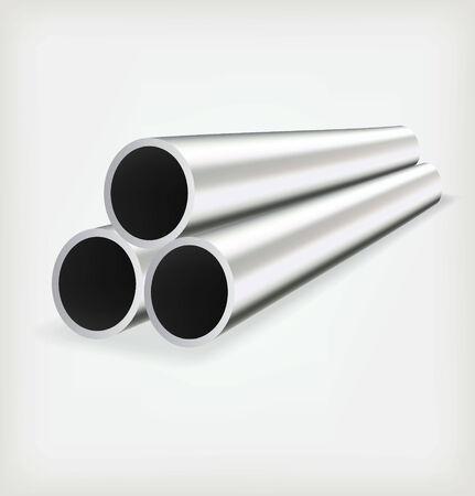 metal pipe: Metal tube