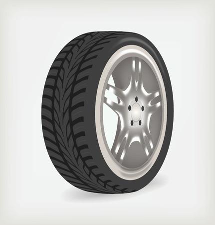 Car wheel.