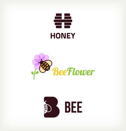bee honey: Sybol bee vector