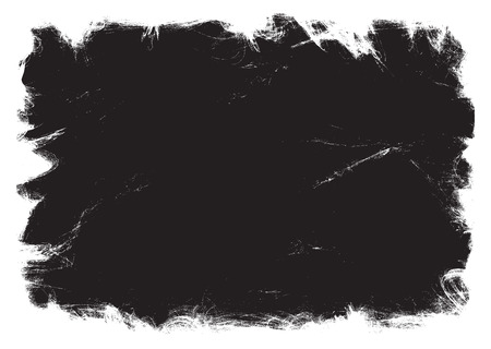 Grunge black frame. vector template 矢量图像