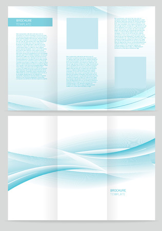 Abstract creative pattern booklet. Vector design illustration