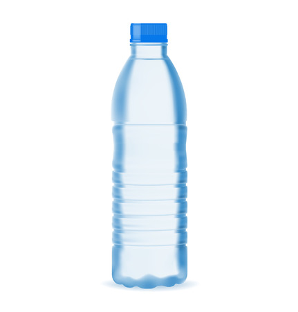minerals: Small water bottle
