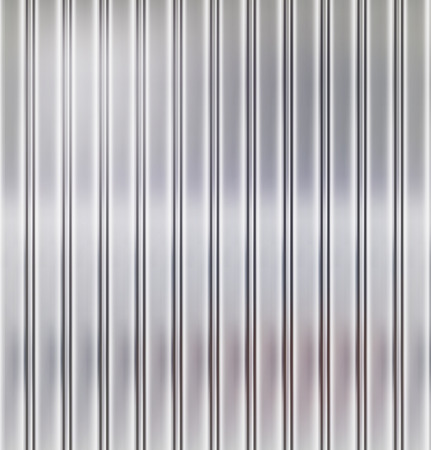 Grooved metal texture photo