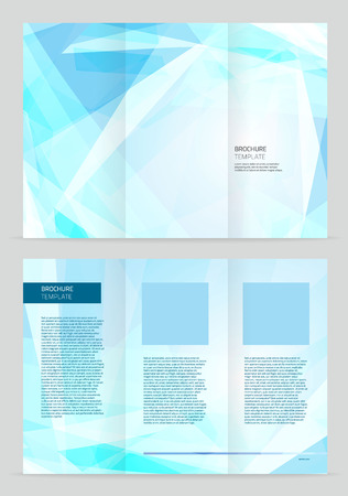 office background: Vector Brochure Template