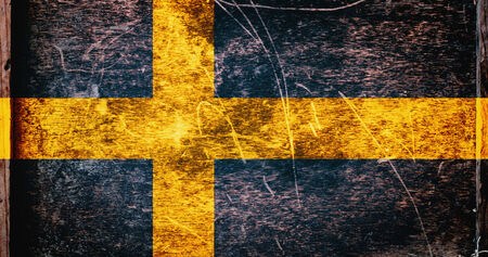 sweden flag: Sweden Flag Stock Photo