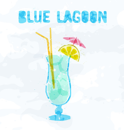 blue lagoon: Blue Lagoon cocktail