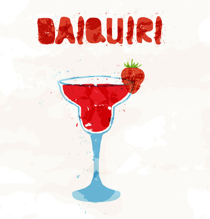 daiquiri: Strawberry daiquiri