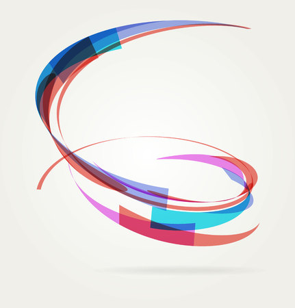 Abstract background with lines. Vector. Template design