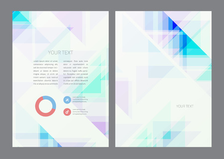 Abstract artistic soft light shapes. Vector background. Vector