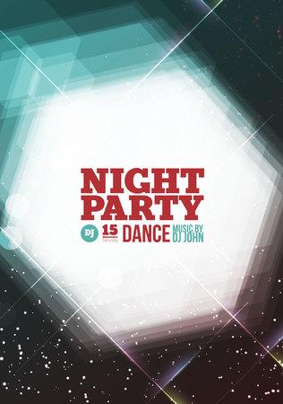 Partido de la noche Vector