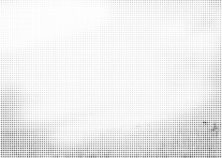 Grunge halftone vector ink background